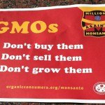 Protest Sign From the Millions Against Monsanto Rally