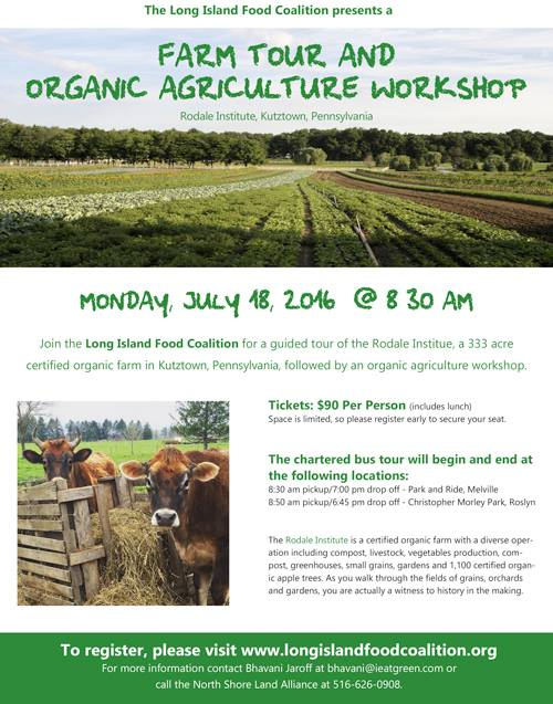 farming, Long Island, organic agriculture, workshop